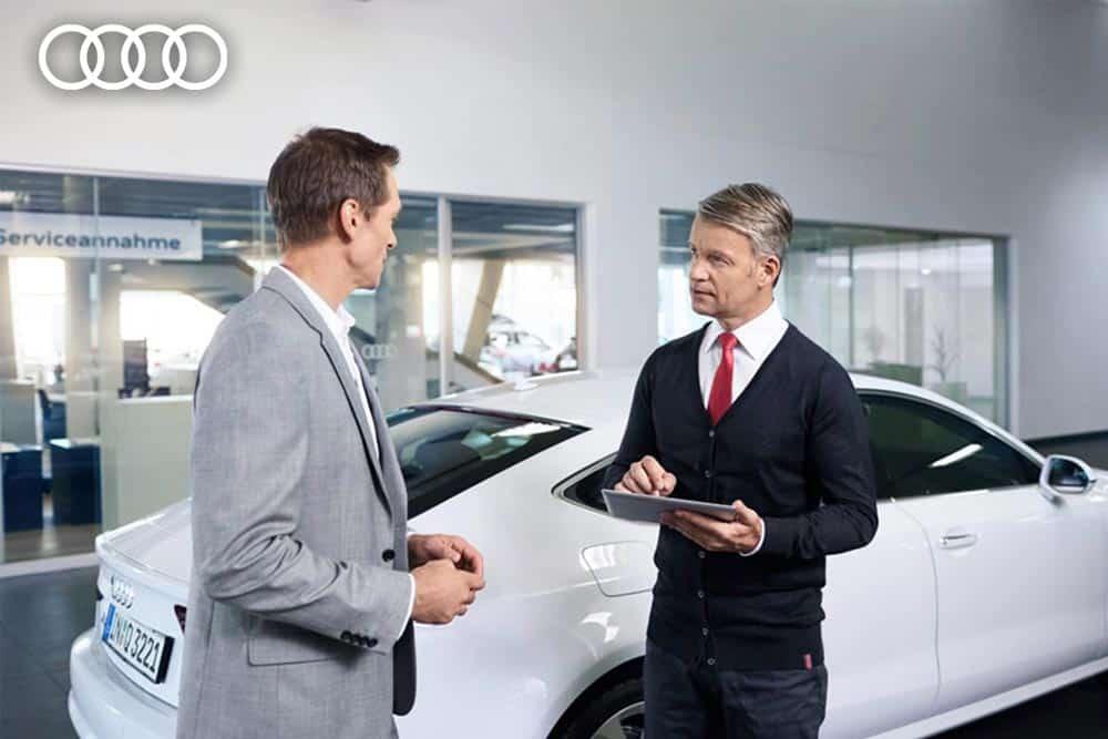Neuer Service im Bereich After Sales // AUDI