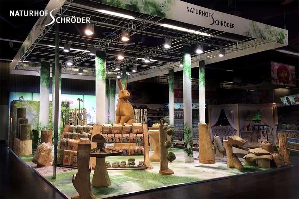 Designkonzept Messestand // Naturhof Schröder