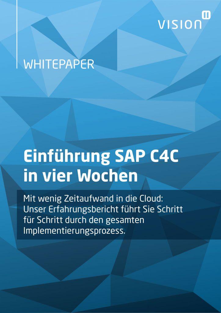 Cover Whitepaper SAPC4C
