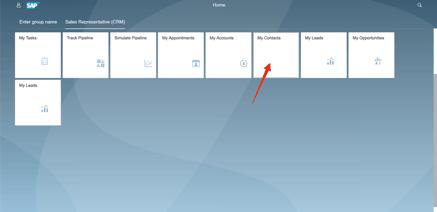 Beispiel eines SAP Fiori 3 Dashboards