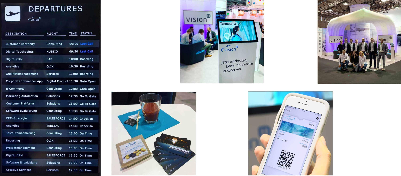 Vision11 Standkonzept auf der dmexco 2019