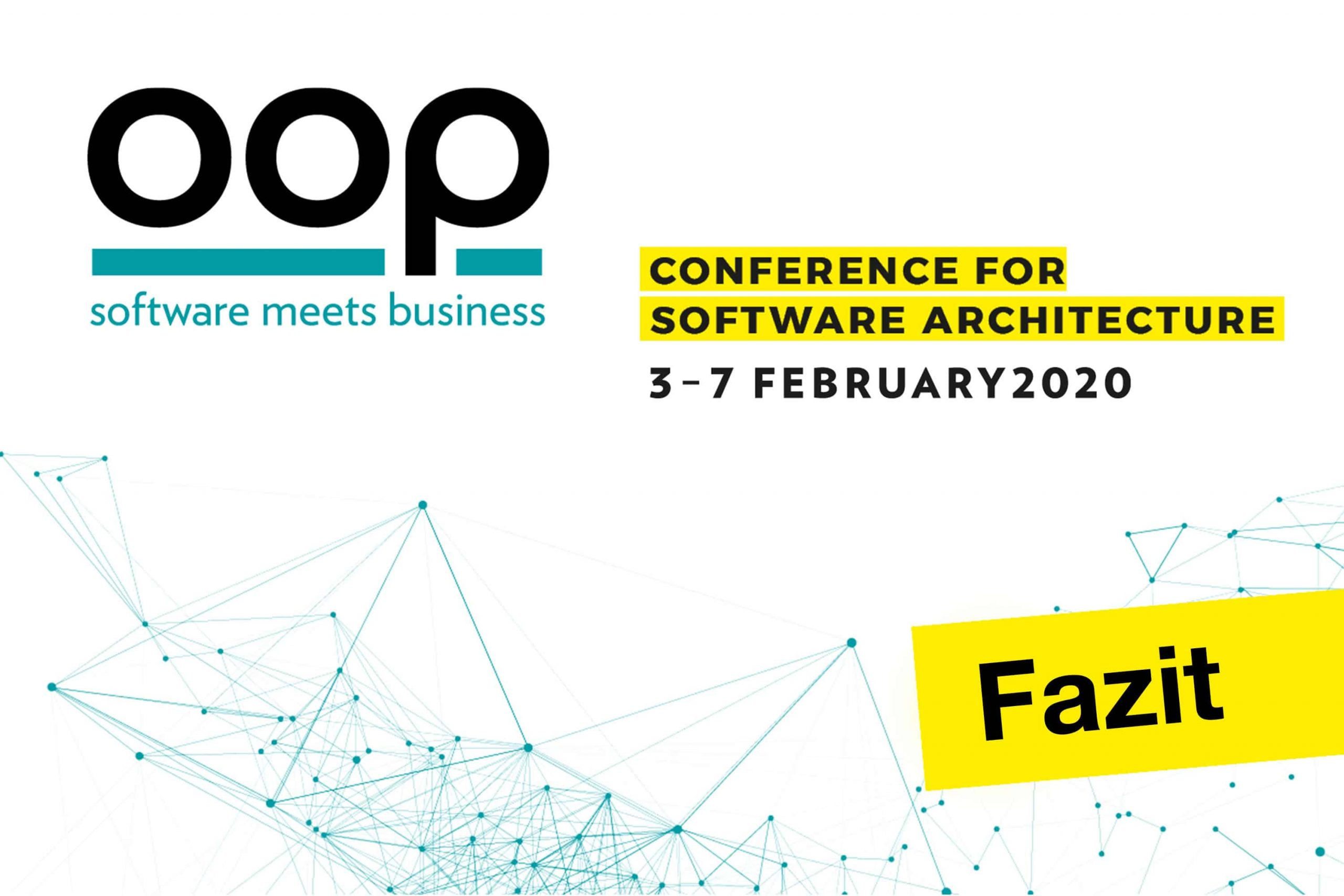 Fazit OOP Konferenz 2020