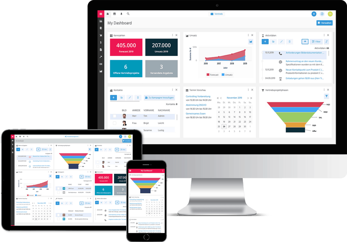 CRM-Plattform von Adito