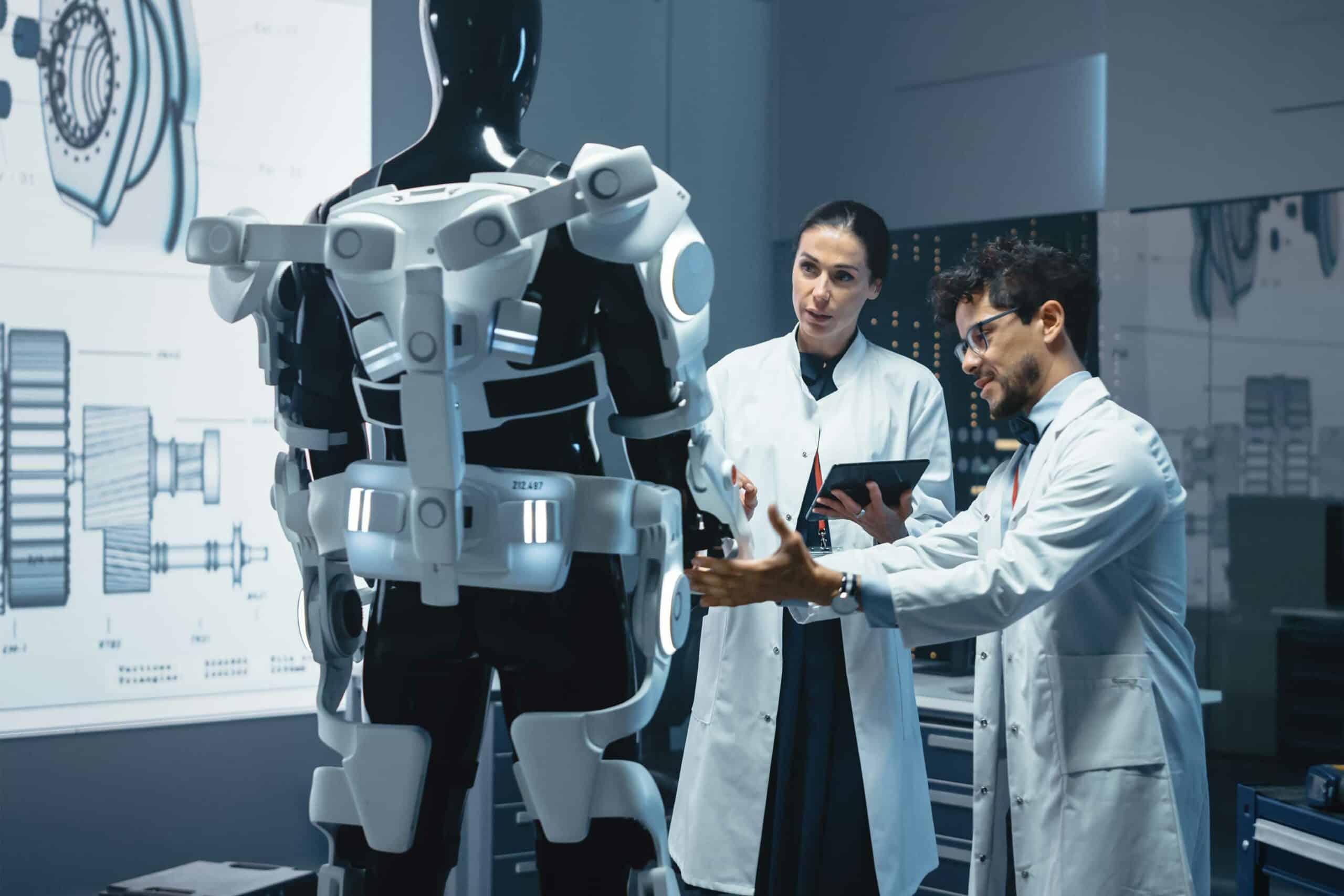 Künstliche Intelligenz in der Medizin - Exoskelett