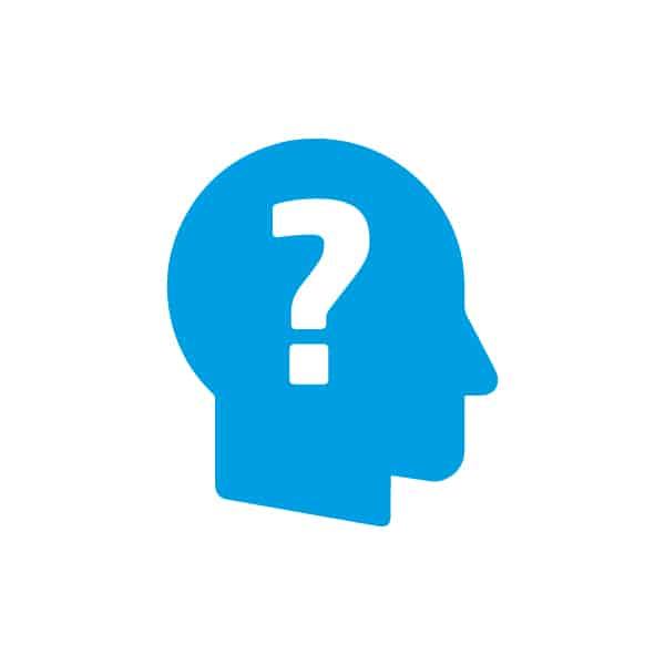 Icon-Fragezeichen Kopf