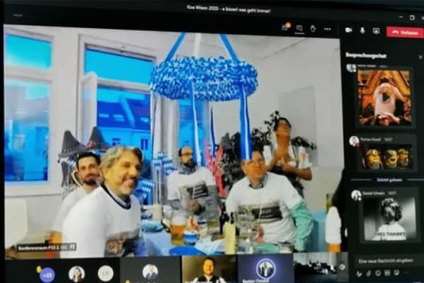 Teamevents: Virtuelle Wiesn 2